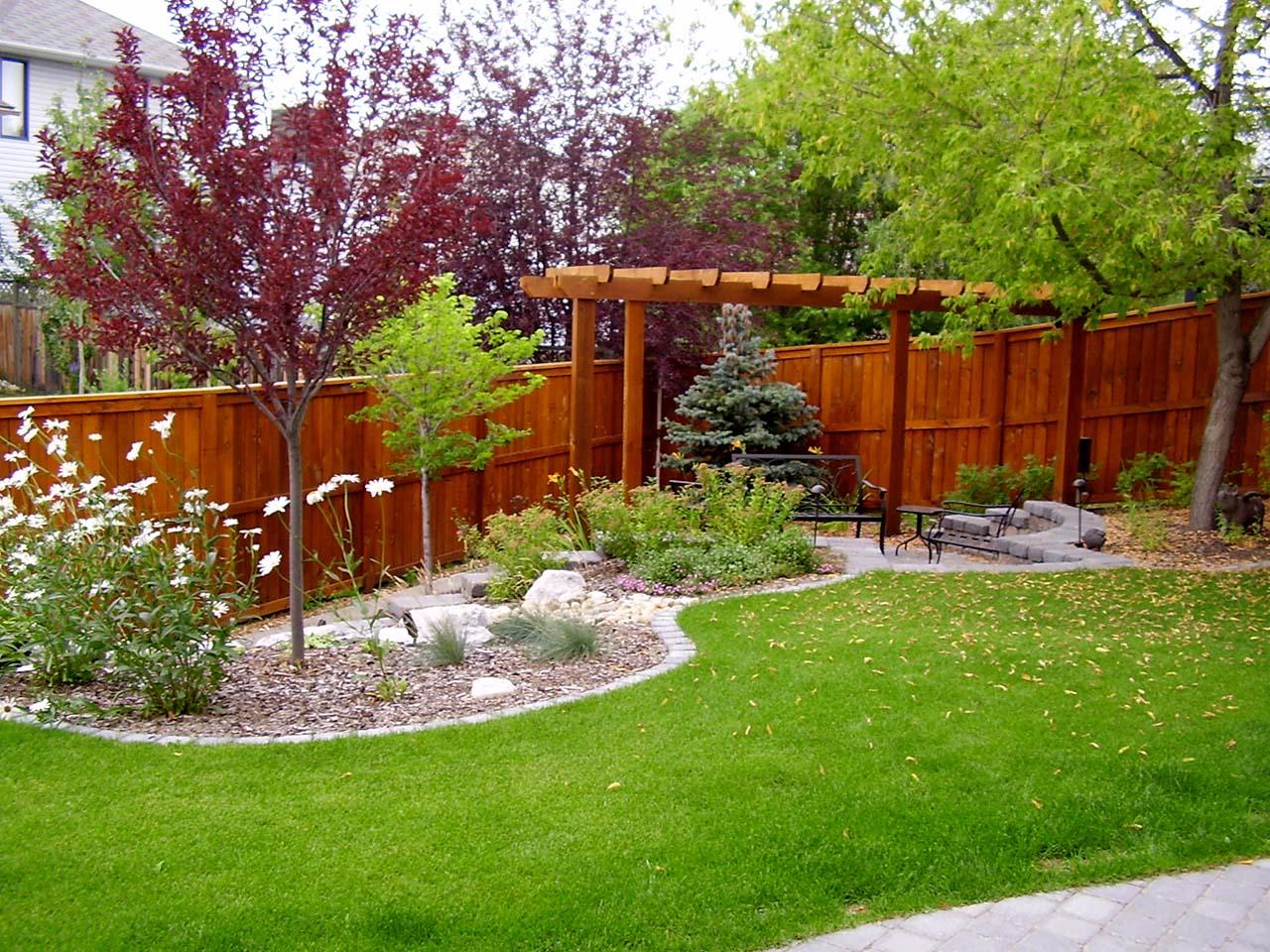 Calgary Backyard Garden Design